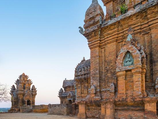 Po Klong Garai Temple, 13th Century Cham Towers, Phan Rang-Thap Cham, Ninh Thuan Province, Vietnam-Jason Langley-Photographic Print