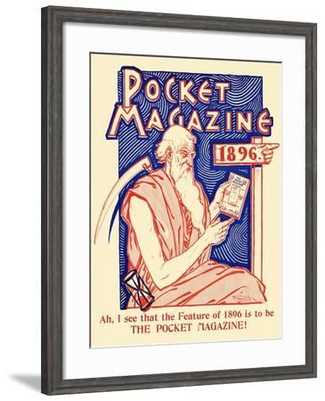 Pocket Magazine 1896--Framed Art Print