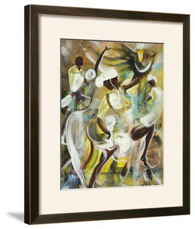 Pocomania-Ikahl Beckford-Framed Art Print