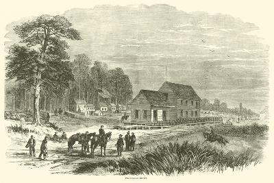 Pocotaligo Depot, January 1865--Giclee Print