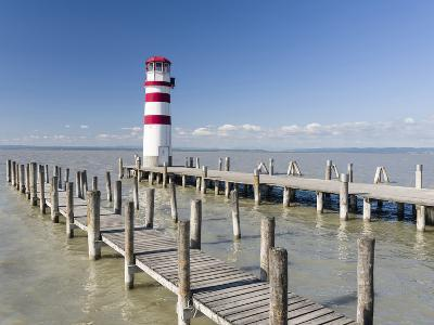 Podersdorf Am See on the Shore of Lake Neusiedl. Burgenland, Austria-Martin Zwick-Photographic Print