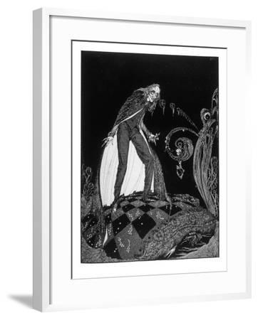 Poe, The Tell-Tale Heart--Framed Giclee Print