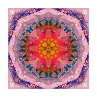 Poeany Mandala No 9-Alaya Gadeh-Art Print