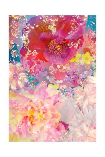 Poeny In Love-Alaya Gadeh-Art Print