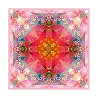 Poeny Mandala No 3-Alaya Gadeh-Art Print