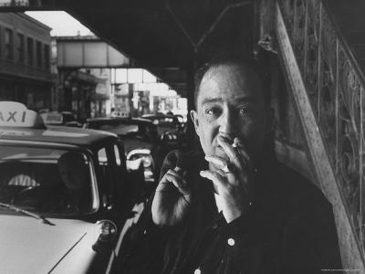 Poet Langston Hughes in Harlem-Robert W^ Kelley-Premium Photographic Print