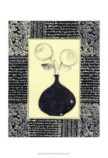 Poet's Bouquet II-Norman Wyatt Jr^-Art Print