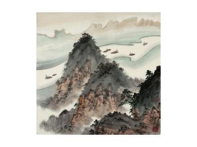 Poetic Li River No. 13-Zishen Zhang-Giclee Print