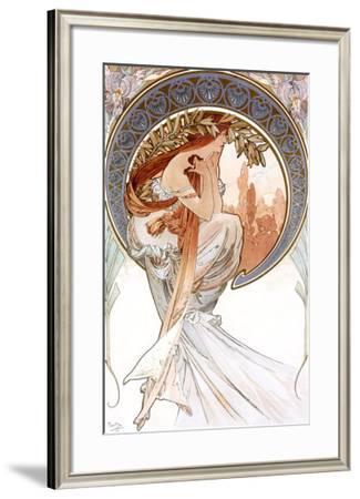 Poetry-Alphonse Mucha-Framed Giclee Print