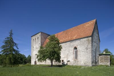 Poide Fortress-Church (13th-14th Century), Saaremaa Island, Estonia--Photographic Print