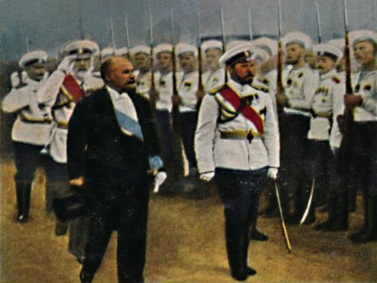 'Poincaré (geb. 1860) und Zar Nikolaus II. 1868-1918', 1934-Unknown-Giclee Print