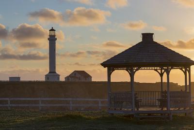 Point Arena Lighthouse and Museum, Arena Rock Marine Natural Preserve, California, Usa-Rainer Mirau-Photographic Print