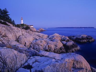 Point Atkinson Lighthouse Guides Mariners into Vancouver Harbour, Lighthouse Park, West Vancouver, -Chris Jaksa-Photographic Print