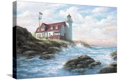 Point Betsie Light-Joe Sambataro-Stretched Canvas Print