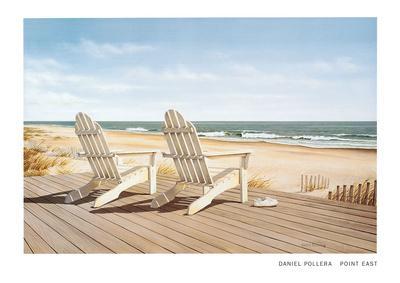 Point East-Daniel Pollera-Art Print