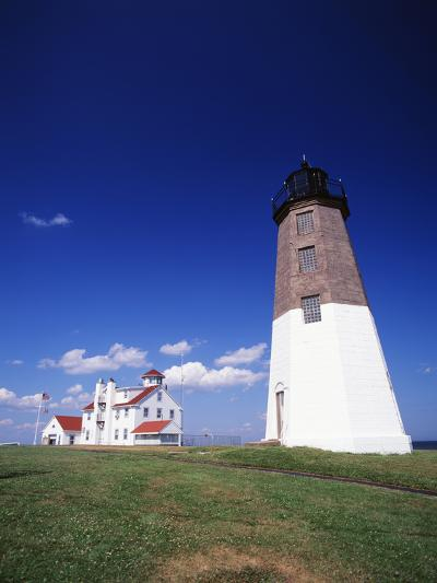 Point Judith Lighthouse, Rhode Island, USA-Walter Bibikow-Photographic Print