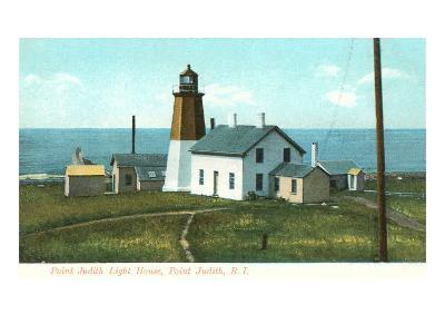 Point Judith Lighthouse, Rhode Island--Art Print