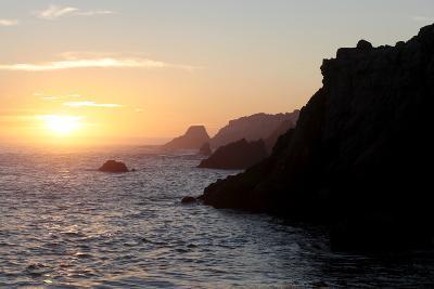 Point Lobos State Reserve Sunset-Dan Schreiber-Photographic Print