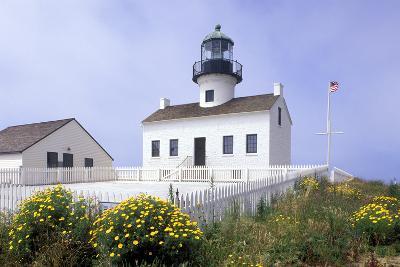 Point Loma Lighthouse, San Diego, California, USA-Peter Bennett-Photographic Print