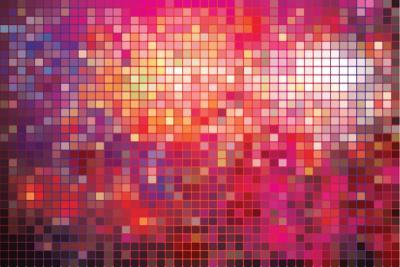 Point Mosaic Background-Kundra-Art Print