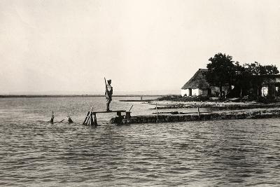 Point Sdobba at the Mouth of the Isonzo River Near the Lagoon of Grado-Ugo Ojetti-Photographic Print