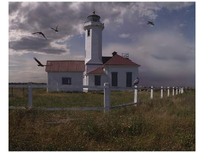 Point Wilson-Steve Hunziker-Art Print