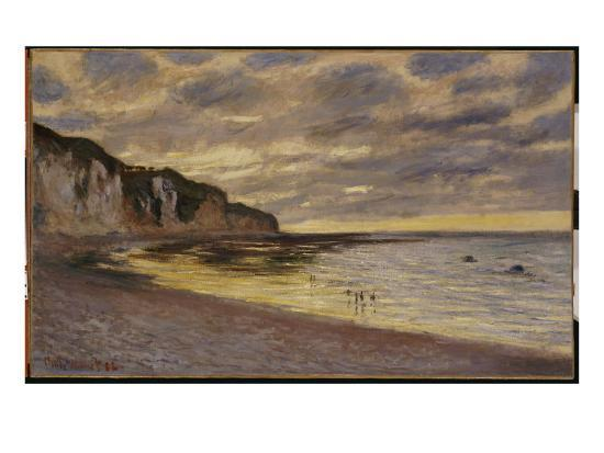 Pointe De Lailly, Maree Basse, 1882-Claude Monet-Giclee Print