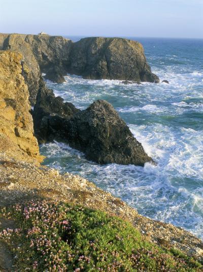 Pointe De Port Coton, Belle Ile En Mer, Breton Islands, Morbihan, Brittany, France-Bruno Barbier-Photographic Print