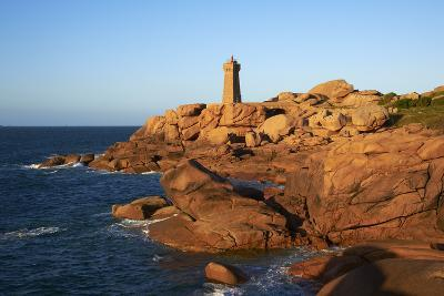 Pointe De Squewel and Mean Ruz Lighthouse-Tuul-Photographic Print
