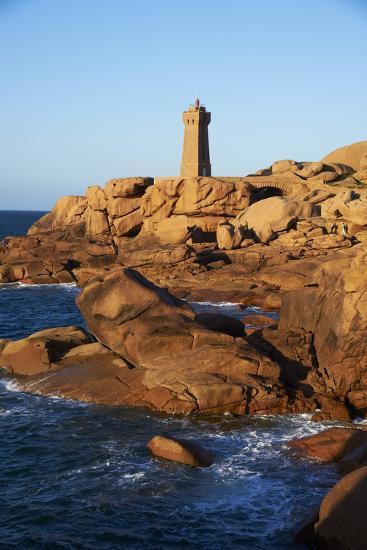 Pointe De Squewel and Mean Ruz Lighthouse-Tuul-Photographic Print