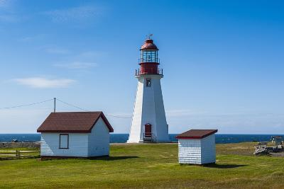 Pointe Riche Lighthouse, Port Au Choix, Newfoundland, Canada, North America-Michael Runkel-Photographic Print