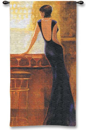 Poise-Miguel Dominguez-Wall Tapestry