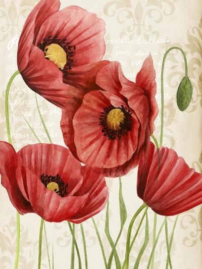 Poised Poppy II-Grace Popp-Art Print