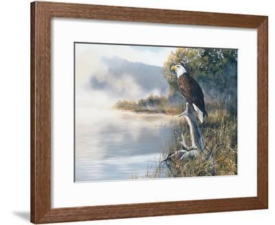 Poised-Andrew Kiss-Framed Art Print