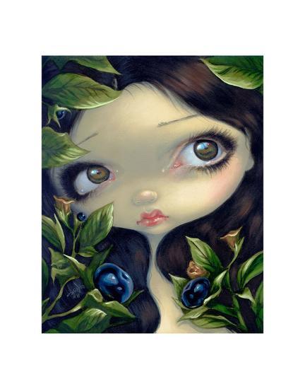 Poisonous Beauties I Belladonna-Jasmine Becket-Griffith-Art Print