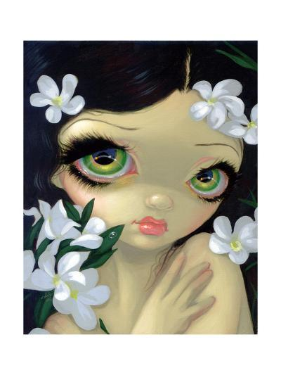 Poisonous Beauties II: White Oleander-Jasmine Becket-Griffith-Art Print