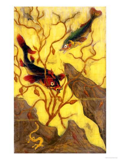 Poissons, and Crustaces, 1902-Paul Ranson-Giclee Print