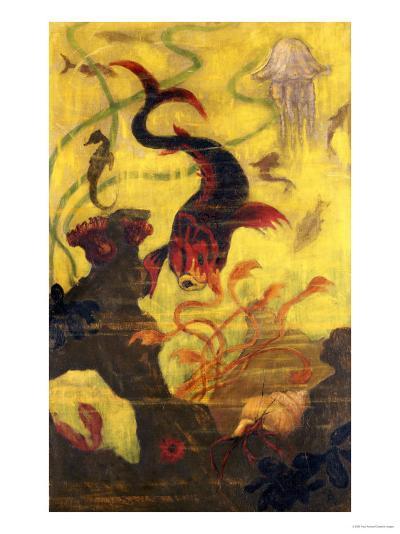 Poissons et Crustacaes, circa 1902-Paul Ranson-Giclee Print