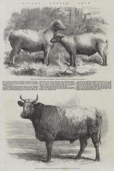 Poissy Cattle Show-Harrison William Weir-Giclee Print