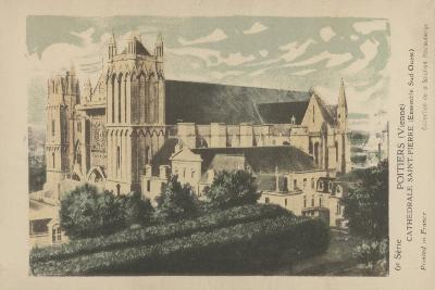 Poitiers, Vienne, Cathedrale Saint-Pierre--Giclee Print