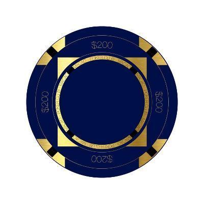 Pokerchip $200, 2015-Francois Domain-Giclee Print