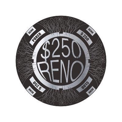 Pokerchip $250, 2015-Francois Domain-Giclee Print