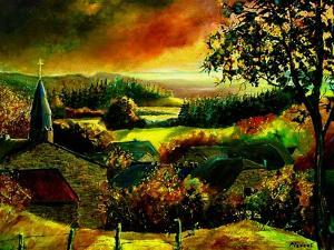 A little village in Belgium - Our - Opont by Pol Ledent