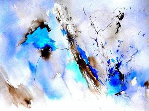Abstract Blue 236874 by Pol Ledent