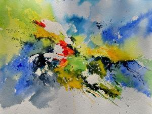 Abstract Watercolor 410141 by Pol Ledent