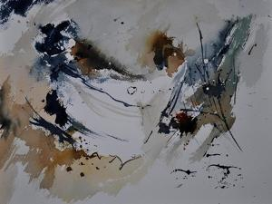 Abstract Watercolor 4121 by Pol Ledent