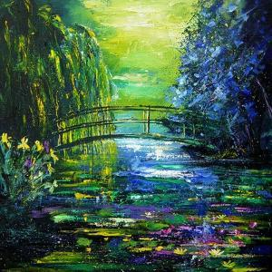 After Monet in Giverny by Pol Ledent