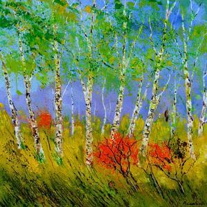 Aspen Trees by Pol Ledent