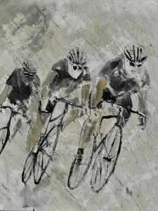 Bikes In The Rain by Pol Ledent
