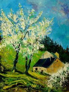 Blooming Prune Trees by Pol Ledent